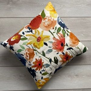 Target Threshold Watercolor Throw Pillow